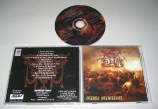 IMPENDING DOOM: Caedes Sacrilegae CD German cult Black Metal Thrash Metal w. stand out vocals. Highly RECOMMENDED