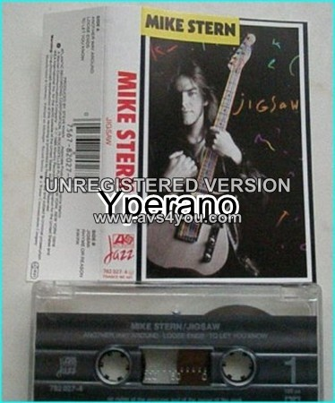 Mike STERN: Jigsaw Cassette tape 1989 Super Jazz rock , fusion  Dennis  Chambers on drums  Check all samples