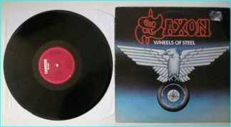 SAXON: Wheels of Steel LP