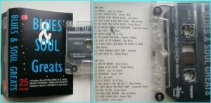 Blues n Soul Greats. 25 songs tape