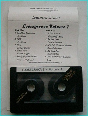 Loosegroove Volume 1 [Promo Tape]. Pearl Jam musician is the label manager. Check video