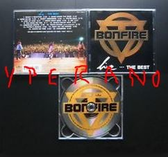 BONFIRE: LiveThe Best (CD) [Kick ass Melodic Hard Rock. 16 songs] Check samples