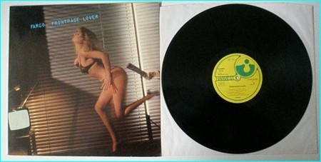"""FARGO: FrontPage Lover LP. Scorpions related. Incl. absolute unique classic song """"A girl like a trigger"""". Check sample"""