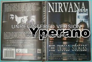 NIRVANA: The untold stories DVD