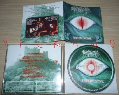 FIRSTBORN EVIL: Rebirth of Evil CD [Incredible Epic meets Black, very capably executed] CHECK SAMPLES Highly recommended