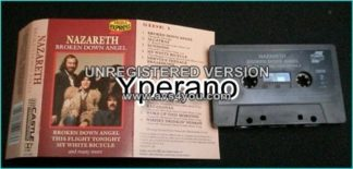 NAZARETH: Broken Down Angel [tape] ULTRA RARE 12 song COMPILATION