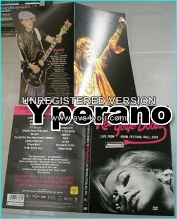 NEW YORK DOLLS: the return of Live from Royal festival hall 2004 DVD