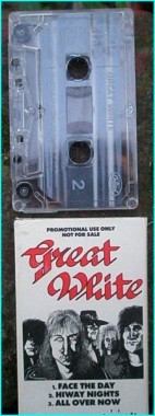 GREAT WHITE: PROMO tape