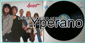 HEART: Greatest Hits / Live. Heart (s.t) LP with 4 cover versions (The Beatles, Led Zeppelin)