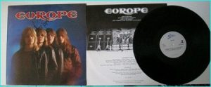 EUROPE: 1st / debut/ ST Their rarest LP with Original cover. Hot Records SIGNED / autographed.