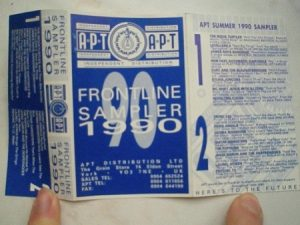 APT distribution, Frontline sampler 1990 Independanty distributed artists (underground collection)