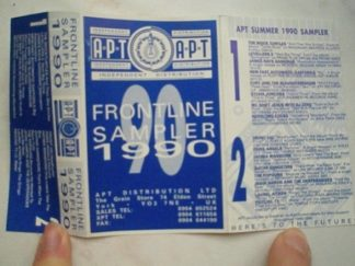 APT distribution, Frontline sampler 1990 Independanty distributed artists (underground collection)