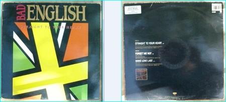 BAD ENGLISH: Straight to Your Heart [Promo] John Waite (Babies), Neal Schon (Santana Journey) Check video