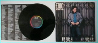 ERIC MARTIN BAND: Eric Martin PROMO 1985 USA 10-track vinyl LP (Mr. Big singer) Check samples