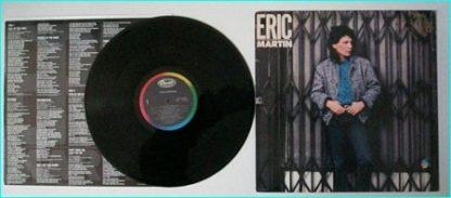 ERIC MARTIN BAND: Eric Martin PROMO 1985 USA 10-track vinyl LP (Mr. Big singer) Check samples