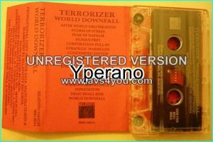 TERRORIZER World Downfall [Official promotional album] tape