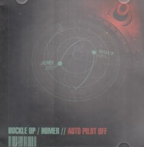 BUCKLE UP/HOMER: Auto Pilot Off CD Two great melodic punk rock bands a la Bad Religion, PN