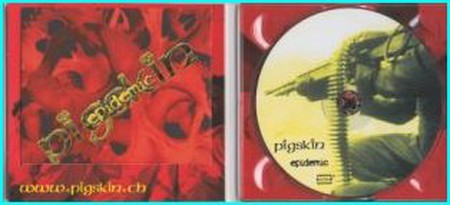 PIGSKIN: Epidemic CD digipak self-production. Explosive mixture of Thrash Metal Hardcore. Check samples. HIGHLY recommended.