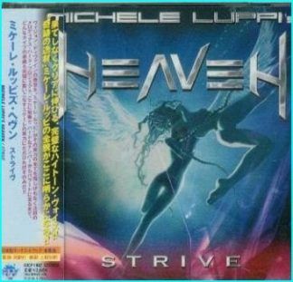 MICHELE LUPPIS HEAVEN: Strive CD melodic hard rock a la Europe, Kiss, Journey, Mr. Big. Check samples