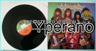 "WINGER: Cant Get Enough 12"" EP [signed / Autographed] Check video"