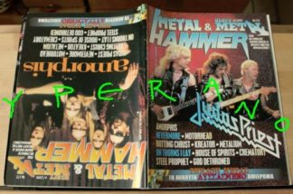 Metal Hammer 172, 4/99 Apr 1999. Judas Priest on cover, Amorphis on cover,Thrash Metal special, Motorhead, Nevermore, Kreator