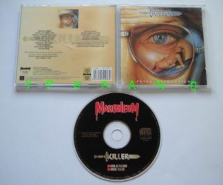 KILLER: Fatal Attraction bonus tracks (Mausoleum 20th anniversary release) Metal CD Check sample