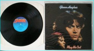 GLENN HUGHES Play me out LP [THE VOICE OF ROCK] ex Black Sabbath, Deep Purple and Trapeze. Check VIDEO