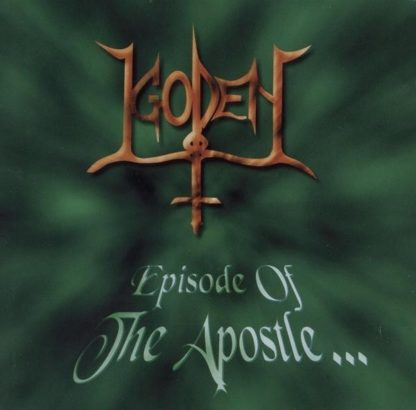 GODEN: Episode Of The Apostle CD RARE Death vocals, thrash elements. 1st Exodus LP, Chastain n Manilla Road. HIGHLY RECOMMENDED
