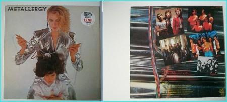 METALLERGY: very Rare compilation featuring N.W.O.B.H.M legends QUARTZ, Bernie TORMIE, WIDOWMAKER