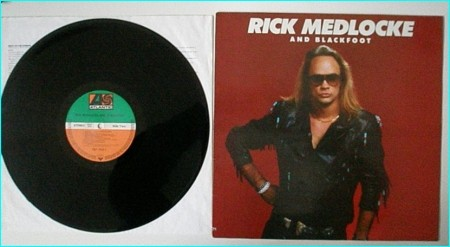 BLACKFOOT: Rick Medlocke n Blackfoot LP For Blackfoot fans A.O.R fans. Check samples