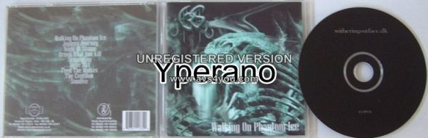 WITHERING SURFACE: Walking On Phantom Ice CD Best melodic Heavy metal with some Death vocals. Check samples