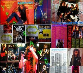 KERRANG - No.153 (BON JOVI cover, Cinderella, Metallica, Anthrax, W.A.S.P., Dio, Donington special)