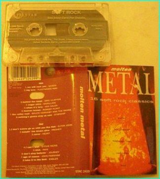 MOLTEN METAL (Telestar Rec. tape) featuring Queen, Marillion, Robert Plant, Starship, Heart, Journey,
