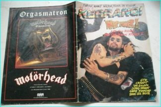 KERRANG NO. 124. JULY 1986 (ZODIAC MINDWARP, GTR, Craaft, Ian Gillan, Judas Priest, Gene Simmons,