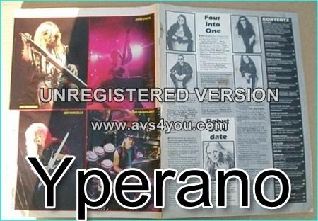 Kerrang 231. March 1989 Guns n Roses, Metallica, The Cult, Femme Fatale, Dare, Europe. £0 Free FOR Kerrang ORDERS OF £25