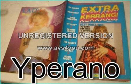 Kerrang Extra 4, Ozzy Ozbourne, Rik Mayall, Motorhead, Steve Marriot, Jimm Dandy, Hammer Horror, Pink Fairies, The Eagles,