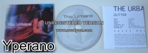 """The URBANE: Glitter CD. PROMO Inside Out Music Progressive Rock fantastic Cyndi Laupers """"Time after Time"""" cover. Check samples"""