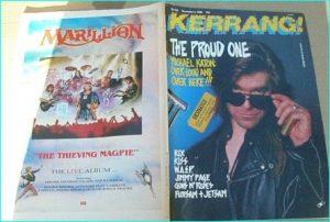 KERRANG - No.216 Dec.1988 Michael Katon Cover, Kiss, Kix, WASP, Violent Playground, Jimmy Page, Guns NRoses, Flotsam n Jetsam