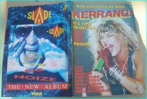 KERRANG - No.144 Poison (cover), EZO, Ratt, Warlock, Gary Moore, Doro, Rock Goddess, Iron Maiden
