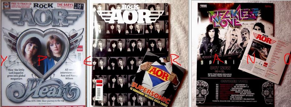 Classic Rock presents: AOR Don't stop believin Issue 9  Heart special  The  top 30 UK obscure A O R bands  With bonus CD