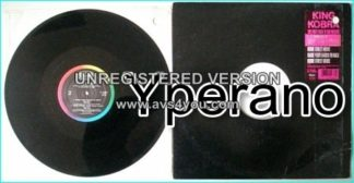 """KING KOBRA: Home street home 12"""". 1st ever ROCK N RAP song. Rare 12"""" promo only given to radio stations. Check samples"""