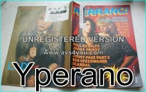 KERRANG No.85 JAN 1985 Ratt Cover, Judas Priest, Jimmy Page, REO Speedwagon, Uli Roth, Doro, Warlock
