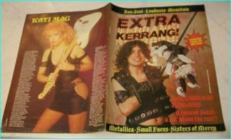 Kerrang Extra 6 Armored Saint cover, Bon Jovi, Loudness, Mountain, Metallica, Small Faces, Sisters of Mercy, Irish Heavy Metal