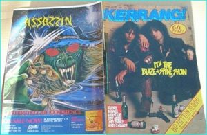 KERRANG NO. 189, MAR 1988 (SPIKE Quireboys n Blaze BAYLEY, Quireboys, Van Halen, Gypsy Queen, Holosade, Queensryche