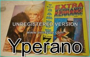 KERRANG - Extra Kerrang No.3 ZZ TOP, Kiss, W.A.S.P, Gun Club, Black n Blue, Grand Funk Railroad
