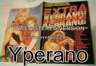 KERRANG Extra Kerrang No.1 (Van Halen, Led Zeppelin, Judas Priest, Kiss, Thor, Motley Crue, Rush, Ted Nugent, Twisted Sister