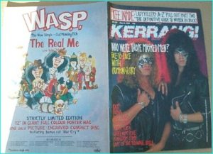 KERRANG NO. 238 MAY 1989 (CRIMSON GLORY cover, Ratt, Queensryche, Kingdom Come, Sepultura, Forbidden, ladykillers