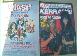 KERRANG NO. 238 MAY 1989 (CRIMSON GLORY cover, Ratt, Queensryche, Kingdom Come, Sepultura, Forbidden, ladykillers