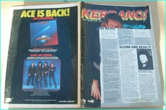 KERRANG - No.165 The Cult, Laaz Rocket, Exodus, Tigertailz, The Party Boys, U.D.O., Aerosmith, Roger Waters,