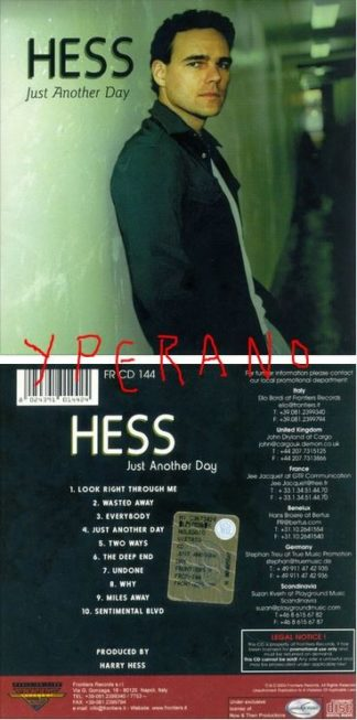 HESS: Just Another Day CD A.O.R?